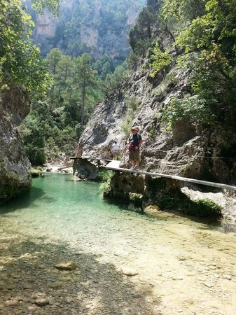 Beceite, Spain: Pasarelas