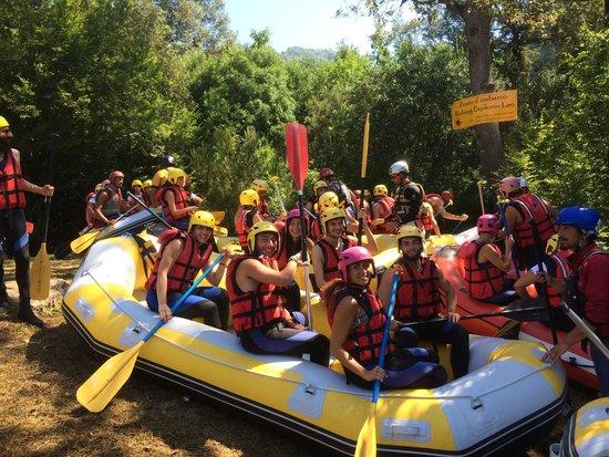 Orsomarso, Włochy: Rafting Explorer