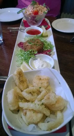 Buon Apps Italian Restaurant : Seafood Starter Platter (for 2 persons)