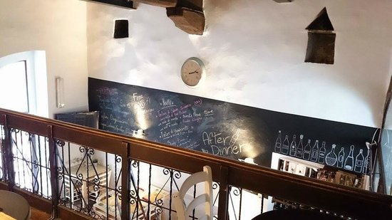 Natta Cafe: Vue de la mezzanine