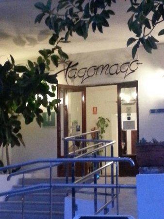 Hotel Tagomago : Ingresso