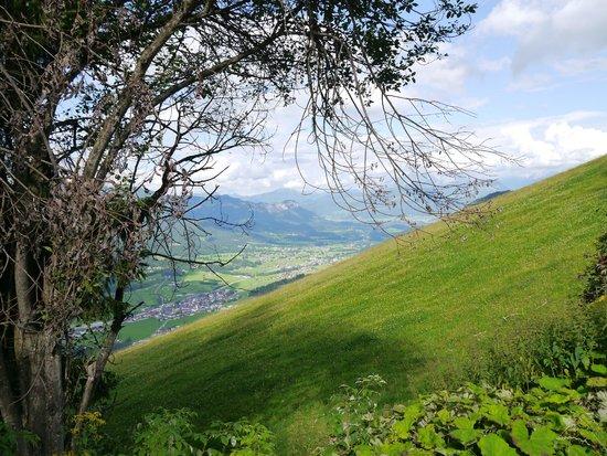 Ellmau Ski Resort and Village: The view of the Wilder Kaiser range