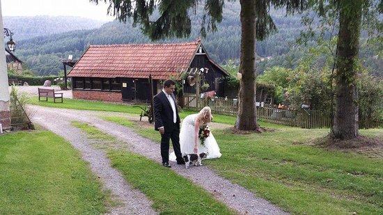 Der Schafhof Amorbach: Weddings are popular