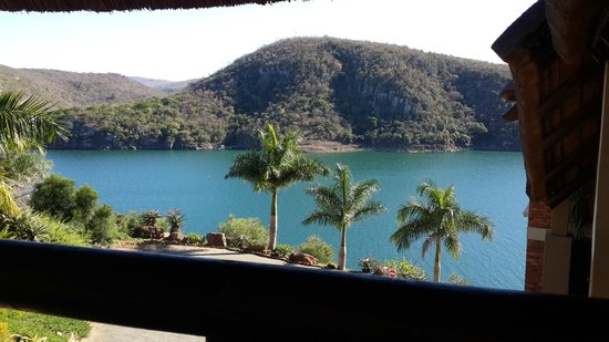 Jozini Tiger Lodge and Spa: Stunning view