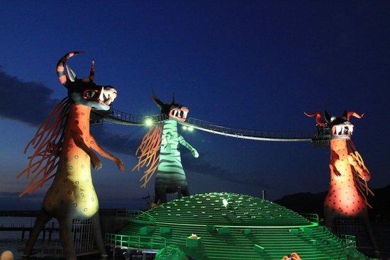 Ibis Bregenz: Festspiele 2014 De Toverfluit 15min van het hotel