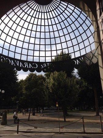 Hotel Caravaggio Florence entrance