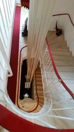 Vital & Wellnesshotel zum Kurfuersten: Stairwell
