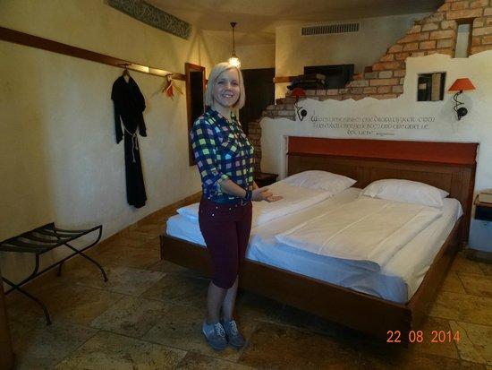 "Hotel ""Santa Isabel"" Europa-Park: VIEW INSIDE OUR ROOM NUMBER 5302 IN SANTA ISABEL, AUGUST 2014."