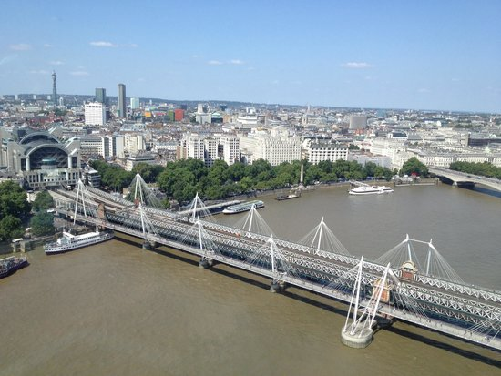 Athena Hotel: View from London Eye