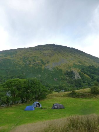 Llyn Gwynant Campsite: Lower camping field