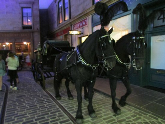 The Riverside Museum of Transport and Travel: Horse drawn Hearse