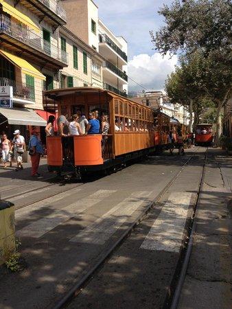 Tren De Soller: Tram in Soller