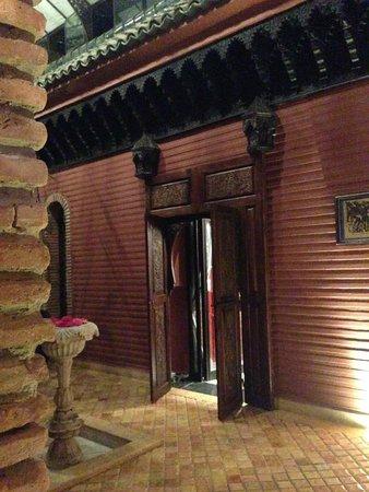 La Sultana Marrakech : entree de la chambre