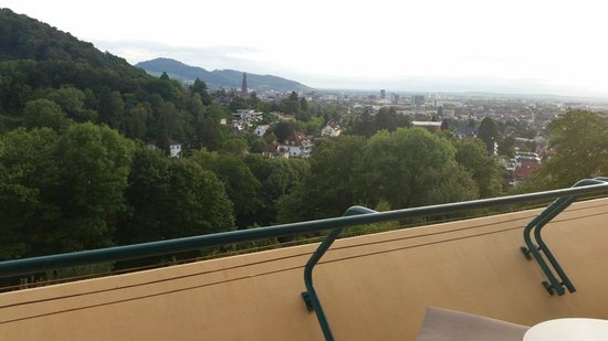 Mercure Hotel Panorama Freiburg: Beautiful view from balcony