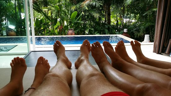 Peach Hill Hotel & Resort: Spacious, well appointed pool villas