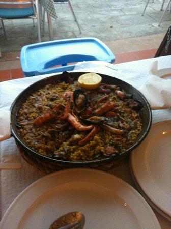 Mr. Bep's: Paella carne e pesce