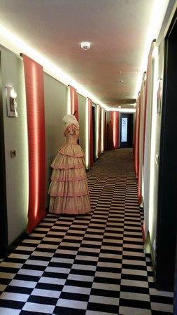 Hotel Sonne : Corridor
