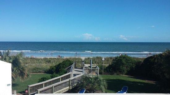 Ocean Park Resort, Oceana Resorts: view from 2nd floor
