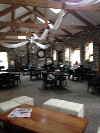Old Down Country Park: The cafe when I visited.