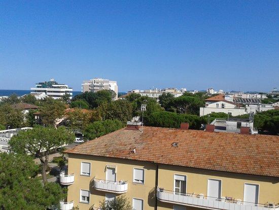 Hotel Carignano : vue de la chambre au 5eme