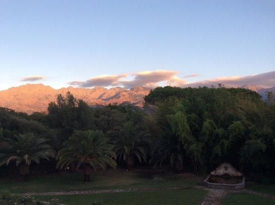 La Signoria: Vue sur les montagnes
