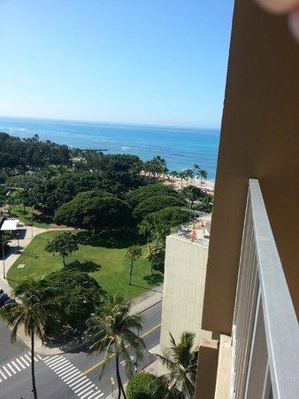 Queen Kapiolani Hotel: 16th floor eatward looking over the Zoo