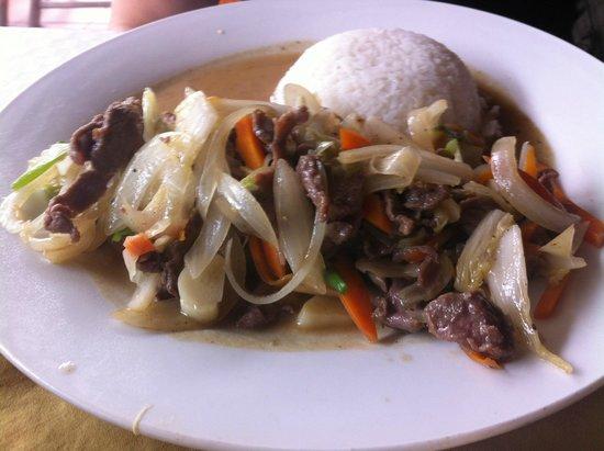 Fansipan Restaurant: plat pas bon
