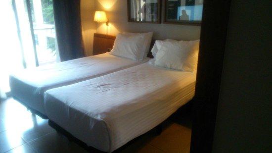 Hotel Ciudad de Castelldefels: Chambre
