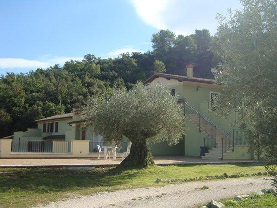 Valle Rosa: casa con le camere