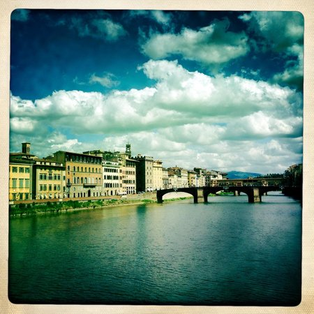 Firenze Number Nine Wellness Hotel: Ponte Vecchio within a short of walk of the hotel
