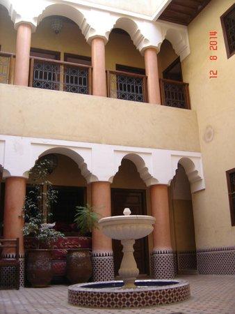 Hotel Cecil Marrakech: Fontana