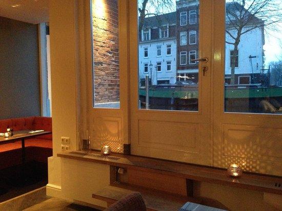 Amsterdam Canal Hotel : Frühstücksraum