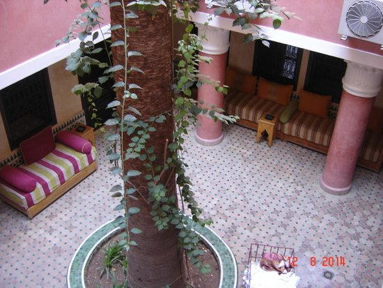 Hotel Cecil Marrakech: Zona camere sterno