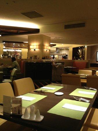 ANA Crowne Plaza Okinawa Harborview: Dinning room for Buffet Breakfast