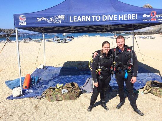 Dive2gether Crete : Lekker duiken!