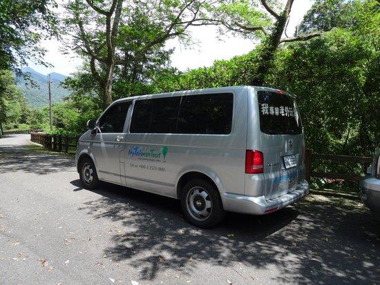 MyTaiwanTour Travel Services: The tour van