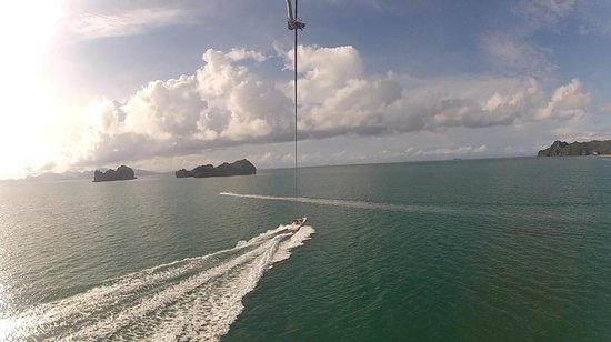 Naam: View from the Parasail Experience