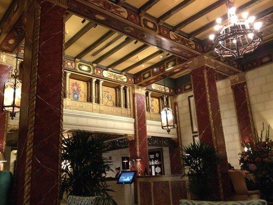 Serrano Hotel: Lobby del hotel