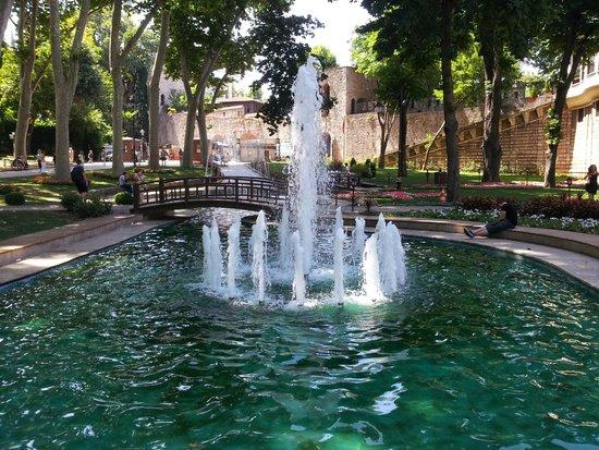Gulhane Park: Un des bassins