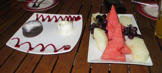 Villa Okan Restaurant : Lækker dessert