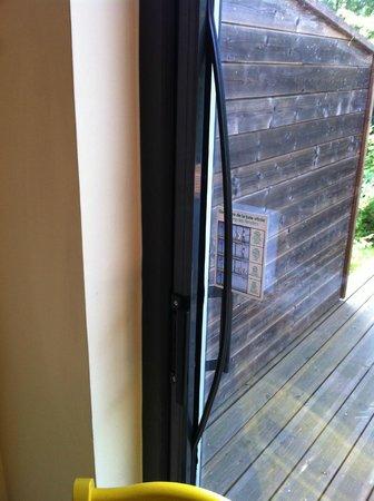 Center Parcs - Domaine des Trois Forets: baie vitrée