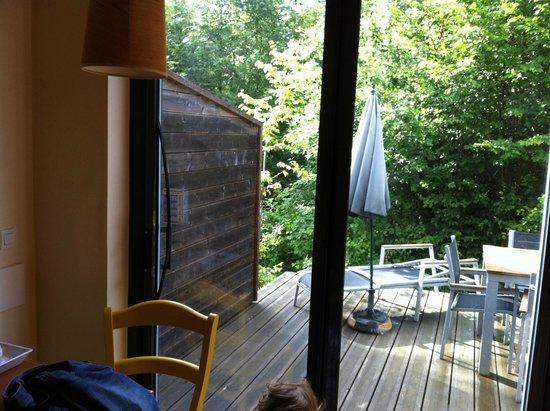 Center Parcs - Domaine des Trois Forets : baie vitrée