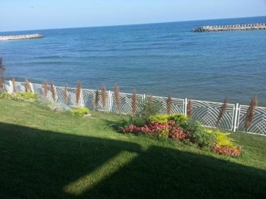 Inter Hotel: sea view from terrace