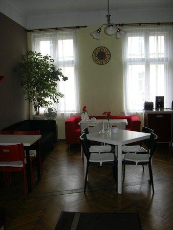 Enigma Hostel & Apartments: część wspólna