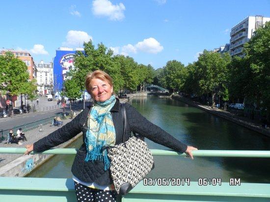 Corail Hotel : canal saint martin