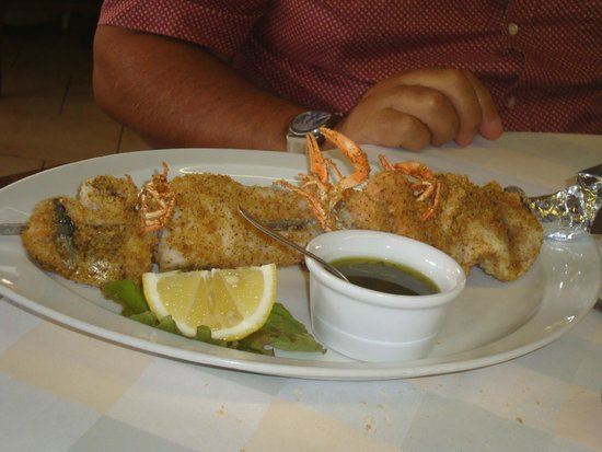 Trattoria Teresa: spiedone di pesce