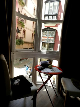 AliciaZzz Bed & breakfast bilbao: Panorama dalla camera
