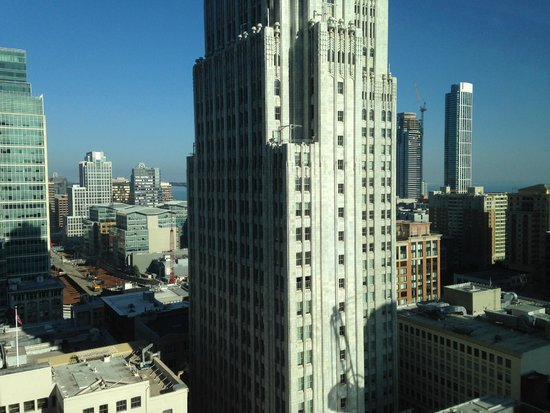 The St. Regis San Francisco : View from our room