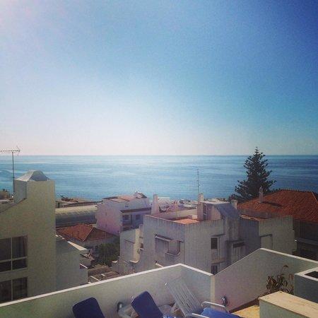 Hotel da Gale: Las preciosas vistas desde la piscina, lo unico que valia la pena