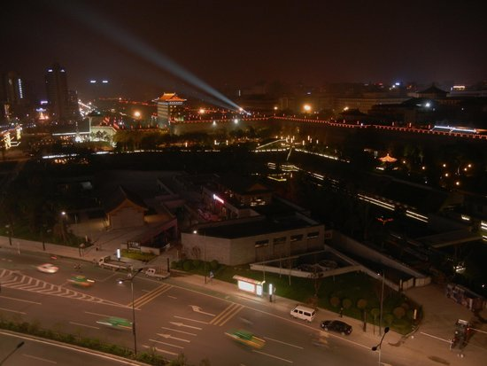 Atour Hotel Xi'an Nanmen: 1127 夜景は良い